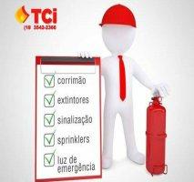 Projeto de combate a incêndio