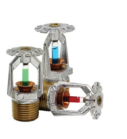 Projeto de sistema de sprinklers